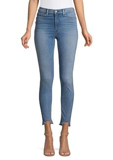 Hudson Jeans Beachside Distressed Hem Jeans