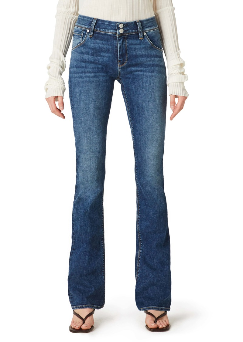 Hudson Jeans Beth Baby Bootcut Jeans (Langley) (Petite)