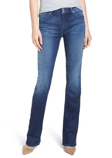 Hudson Jeans Beth Midrise Petite Baby Bootcut Jeans (Barclay)