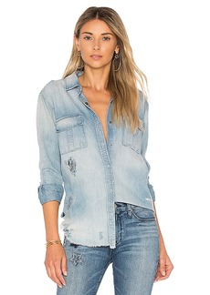 Hudson Jeans Bijou Button Up Shirt. - size L (also in S,XS,M)
