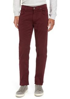 Hudson Jeans Blake Slim Fit Jeans (Burgundy)