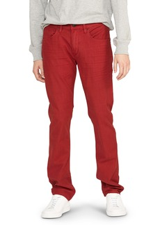 Hudson Jeans Blake Slim Fit Jeans (Maroon)