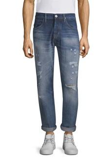 Hudson Jeans Blake Slim-Fit Straight-Leg Jeans