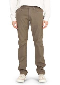 Hudson Jeans Blake Slim Straight Leg Jeans (Gravel)