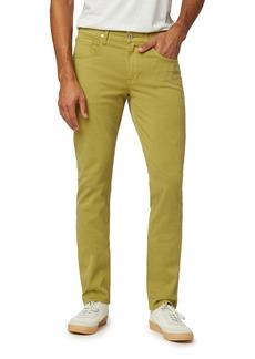 Hudson Jeans Blake Slim Tapered Fit Stretch Jeans (Soft Olive)