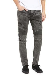 Hudson Jeans Blinder Biker Skinny Fit Jeans (Fade Graphite)