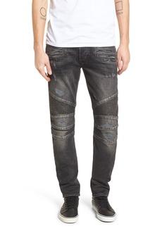Hudson Jeans Blinder Biker Skinny Fit Jeans (Hacker)