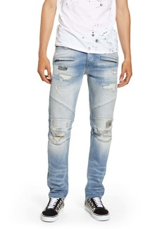 Hudson Jeans Blinder Biker Skinny Fit Jeans (Penalty)