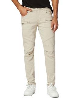 Hudson Jeans Blinder Biker V.2 Skinny Fit Jeans (Light Scraped Paint)