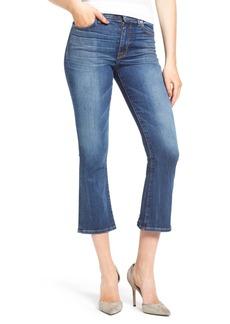 Hudson Jeans Brix High Rise Crop Jeans (Lone Star)