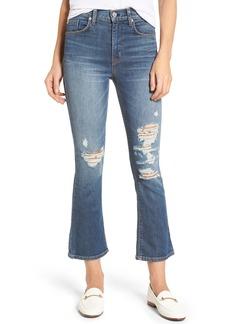 Hudson Jeans Brix High Waist Crop Bootcut Jeans (Notorious)