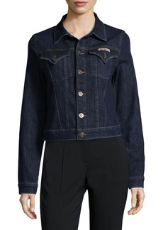 Hudson Jeans Buttoned Denim Jacket
