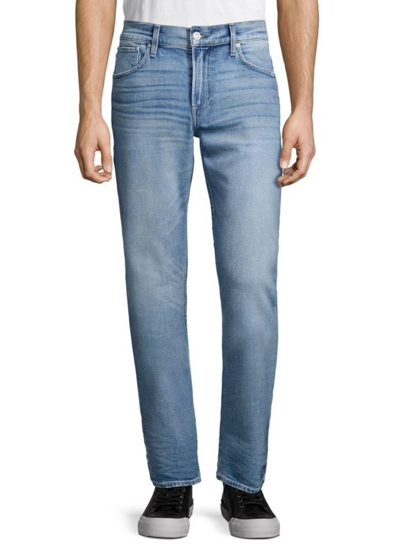 Hudson Jeans Buttoned Straight Jeans