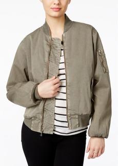 Hudson Jeans Camo-Print Bomber Jacket