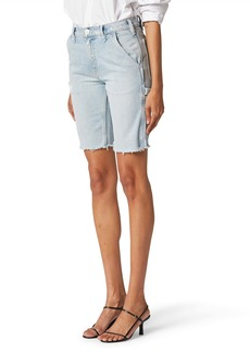 Hudson Jeans Carpenter Denim Bermuda Shorts (Night Fever)