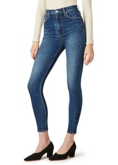 Hudson Jeans Centerfold Extended High Waist Ankle Skinny Jeans (Enchanter)