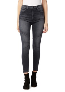 Hudson Jeans Centerfold Extended High Waist Super Skinny Jeans (Ghosts)