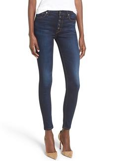 Hudson Jeans Ciara High Waist Skinny Jeans (Calvary)