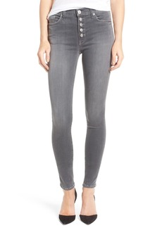 Hudson Jeans Ciara High Rise Skinny Jeans (Face Off)