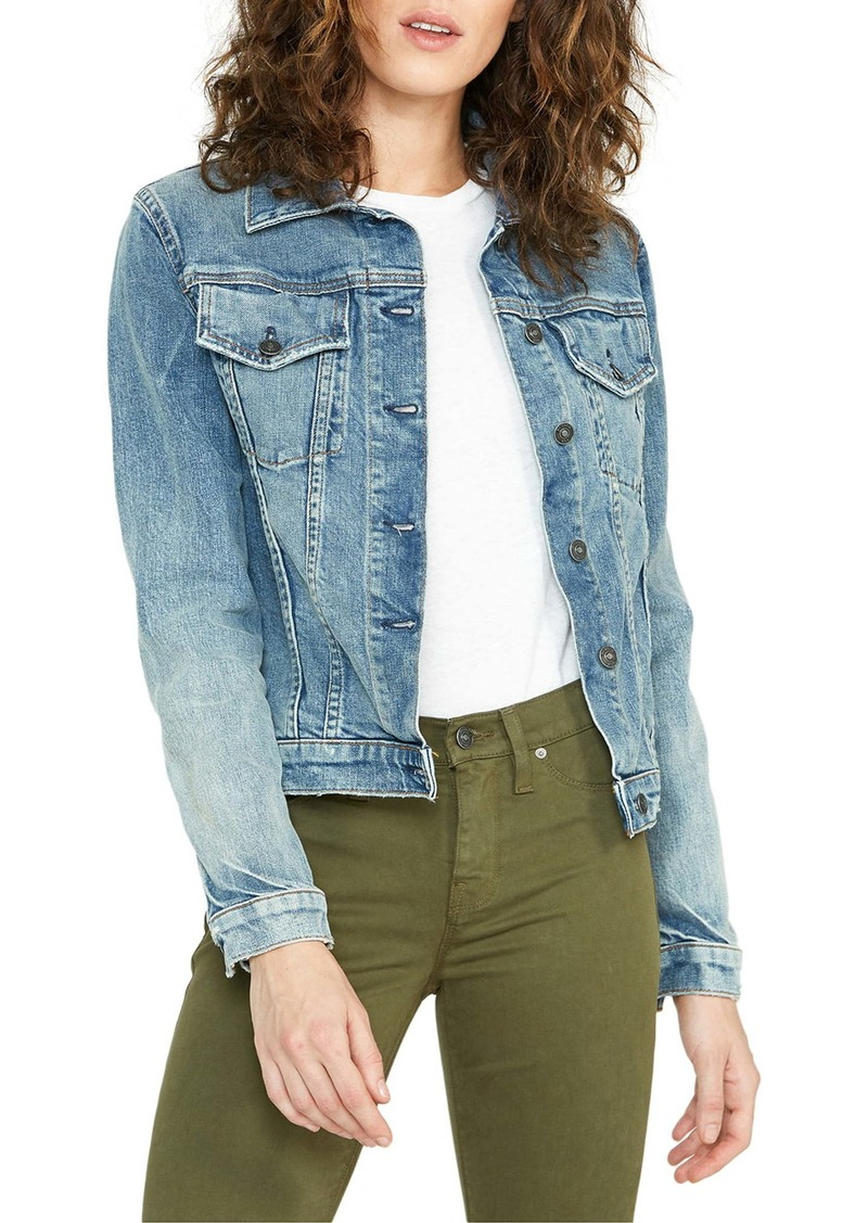 Hudson Jeans Classic Denim Trucker Jacket