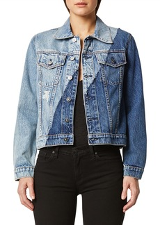 Hudson Jeans Classic Pieced Trucker Jacket
