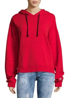 Hudson Jeans Classic Pullover Cotton Hoodie