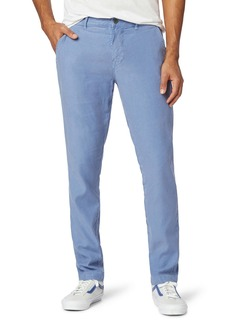 Hudson Jeans Classic Slim Straight Fit Stretch Linen Blend Chino Pants