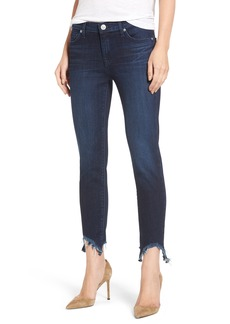 Hudson Jeans Colette Step Hem Skinny Jeans