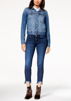 Hudson Jeans Colette Step-Hem Skinny Jeans