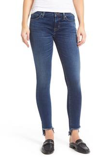 Hudson Jeans Colette Step Hem Skinny Jeans (Backbone)