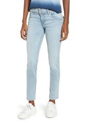 Hudson Jeans Collin Ankle Skinny Jeans (Crystal Blue)