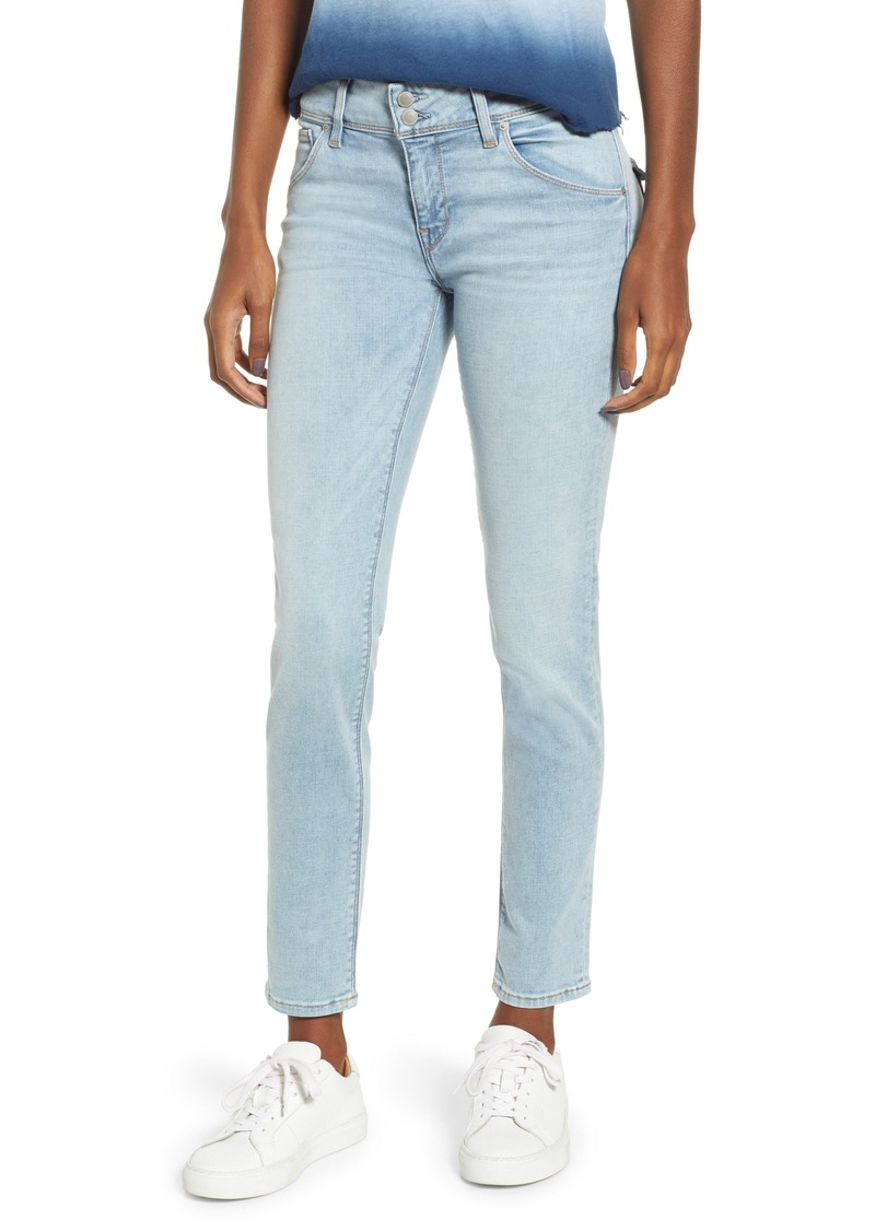 Hudson Jeans Collin Ankle Skinny Jeans (Crystal Blue)