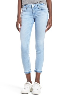 Hudson Jeans Collin Crop Skinny Jeans (Light Azure)