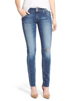 Hudson Jeans 'Collin' Destroyed Skinny Jeans (Beaudry)