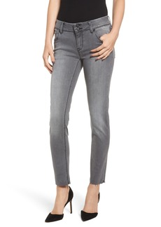 Hudson Jeans Collin Raw Hem Ankle Slim Jeans (Trooper Grey)