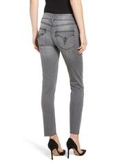 Hudson Jeans Collin Raw Hem Ankle Slim Jeans (Trooper Grey)