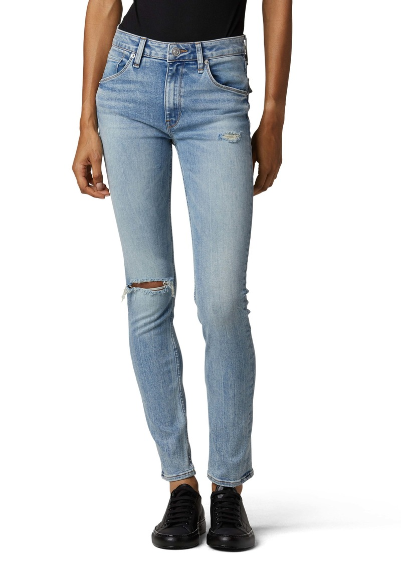 Hudson Jeans Collin Ripped Skinny Jeans (Dest. Moving On)