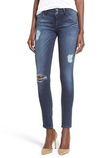Hudson Jeans 'Collin' Skinny Jeans (Anchor Light)