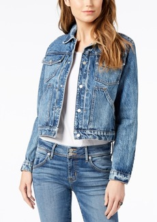 Hudson Jeans Cotton Cropped Denim Jacket