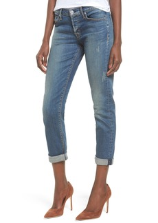 Hudson Jeans Crop Riley Relaxed Straight Leg Jeans (Optimize)