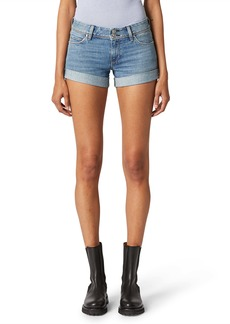 Hudson Jeans Croxley Cuff Denim Shorts (Reaction)