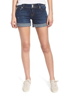 Hudson Jeans Croxley Cuffed Denim Shorts (Double-Deal)