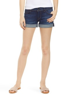 Hudson Jeans Croxley Cuffed Denim Shorts (Earned It)