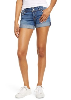 Hudson Jeans Croxley Cuffed Denim Shorts (Nightfall)