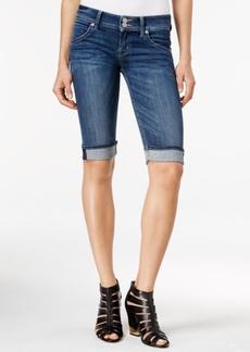 Hudson Jeans Cuffed Bermuda Alabaster Wash Shorts