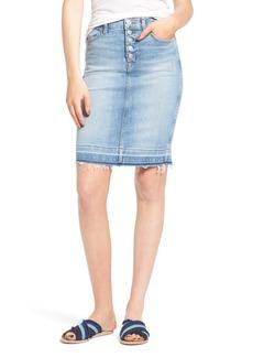 Hudson Jeans Denim Pencil Skirt (Quarrel2)