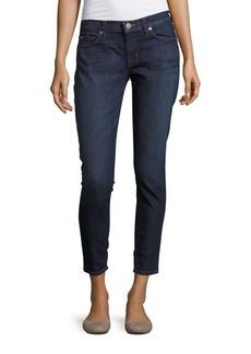 Hudson Jeans Hudson Distressed Ankle Super-Skinny Jeans