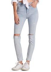 Hudson Jeans Distressed Skinny Jeans