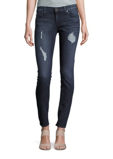 Hudson Jeans Distressed Super Skinny Jeans