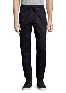 Hudson Jeans Elliot Printed Drawstring Pants